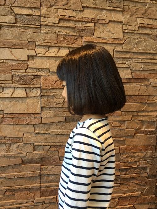丸顔にも似合うタンバルモリ!美容師おすすめのカワイイ髪型です。