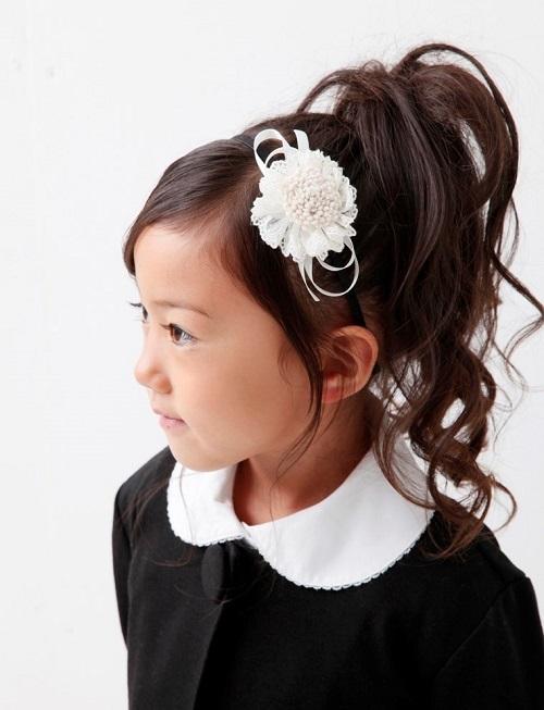 入学式におすすめ子供の髪型アレンジ!金沢市野々市市美容院4cm