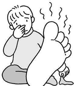 足のにおいが臭い原因とは!4つの原因を対策することで爽やかな足の匂いに!